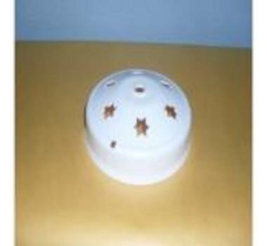 Plafon Ventilador De Teto Bco (Serve P/ Globo Pera)